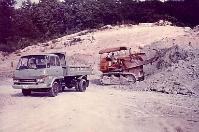 ベントナイトゼオライトを販売するカサネン工業の昭和時代の島根砕石場