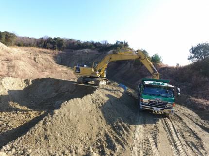 ベントナイトゼオライトを販売するカサネン工業の笠岡粘土鉱山