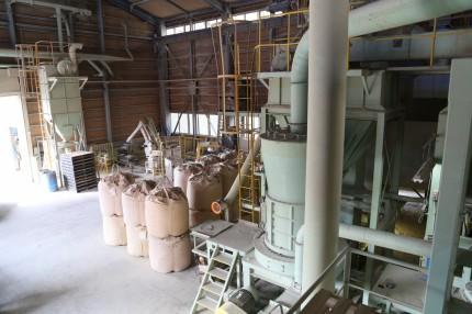 ベントナイトゼオライトを販売するカサネン工業の笠岡工場