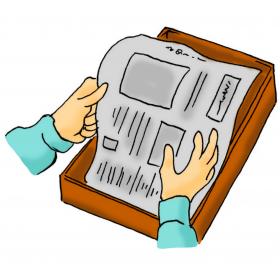 カサネン工業JAくみあい水稲用育苗培土キングソイルSD(使用方法-新聞をしく)