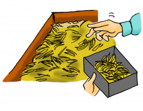 カサネン工業くみあい水稲用育苗培土キングソイル(使い方-は種)